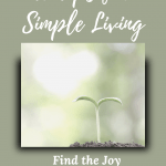 10 tips for simple living - women over 50