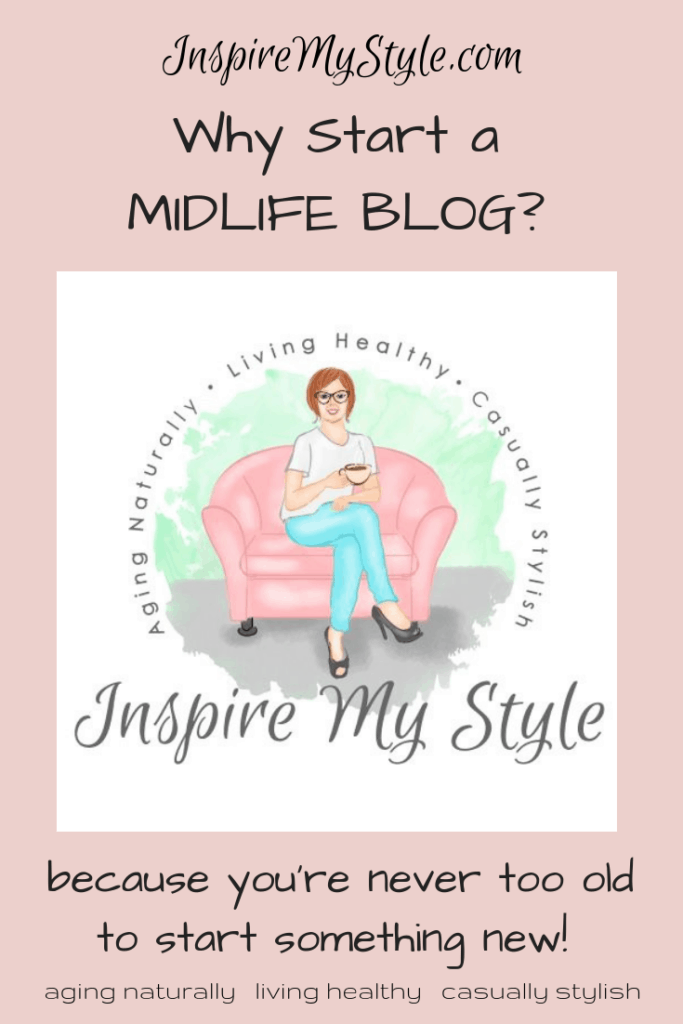 Why I decided to start a midlife blog