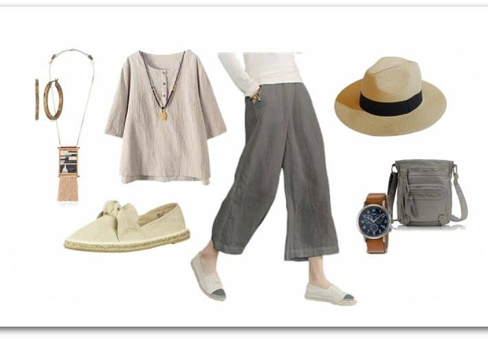 Organic Fabrics and Textures - Womens Casual Fashion