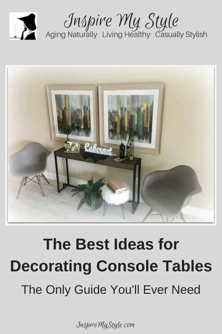Best Ideas For Decorating Console Tables