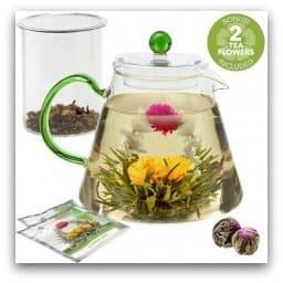 Blooming Oasis Teapot