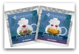 Blueberry & Acai Blooming Tea Flowers