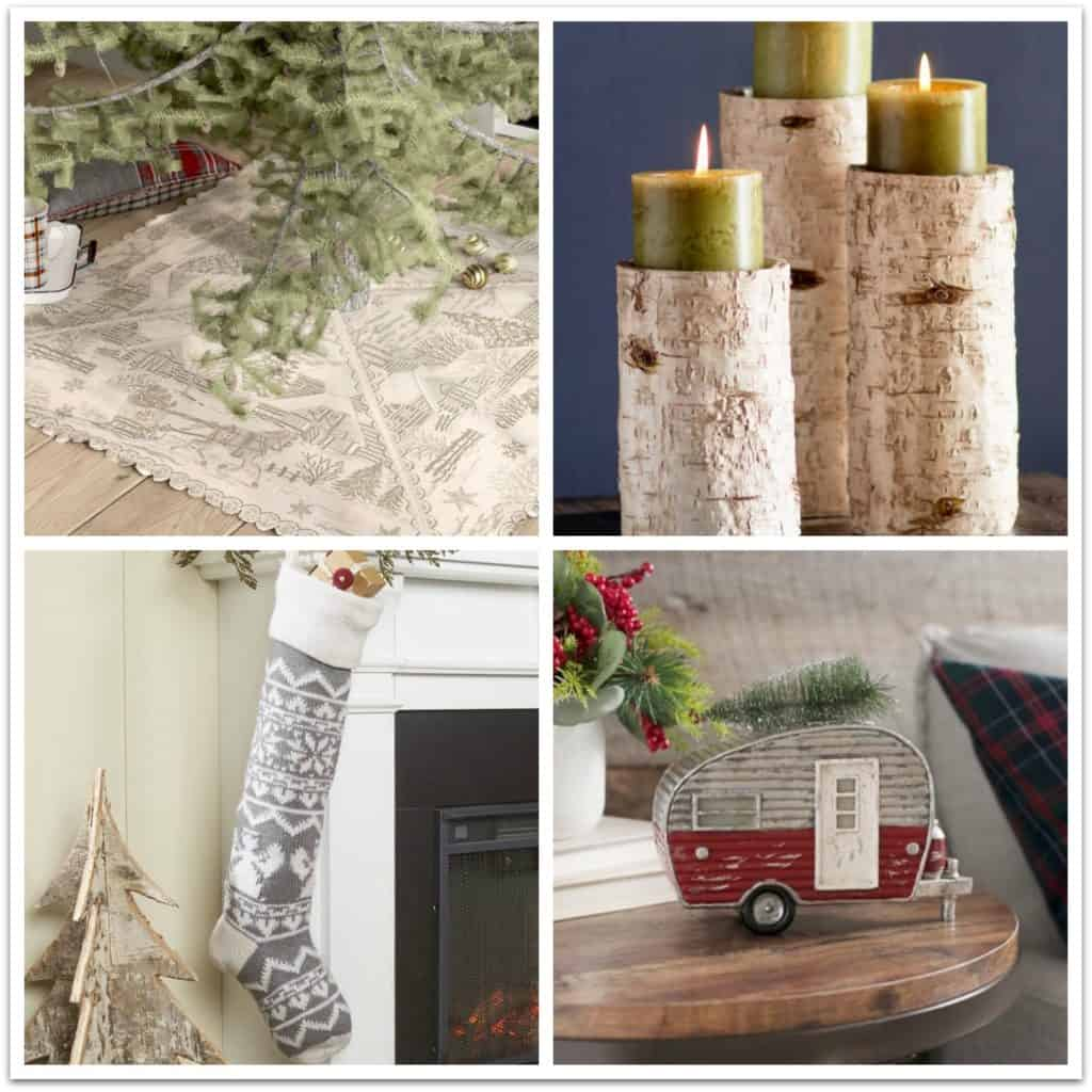 farmhouse style christmas holiday decor ideas 3