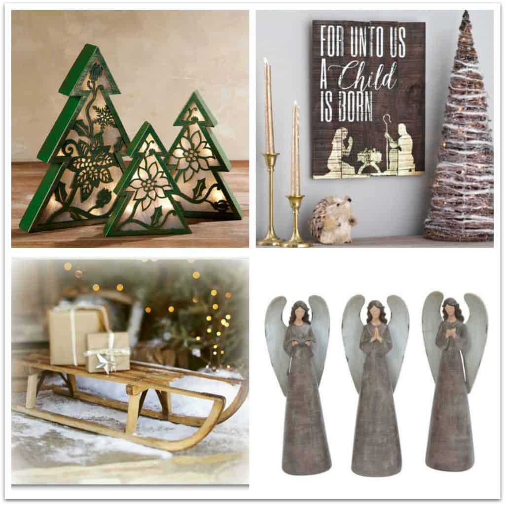 farmhouse style christmas holiday decor ideas 4