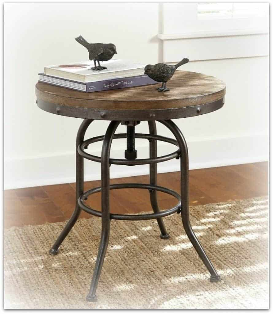 round end table vennilux
