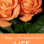 5 things I've learned about life in my 60's
