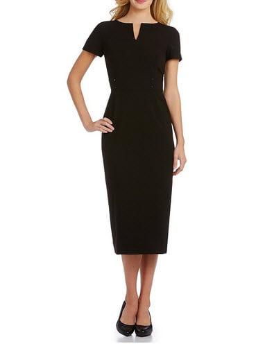 dillards little black dress