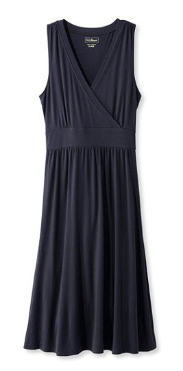 sleeveless knit dress llbean