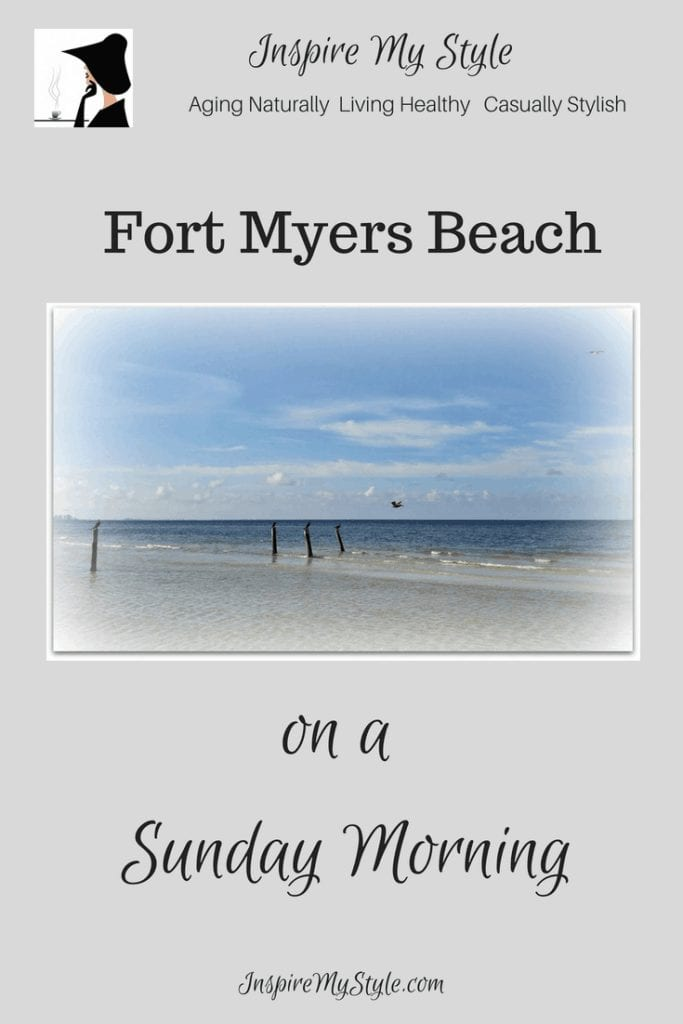 See Fort Myers Beach on a morning walk