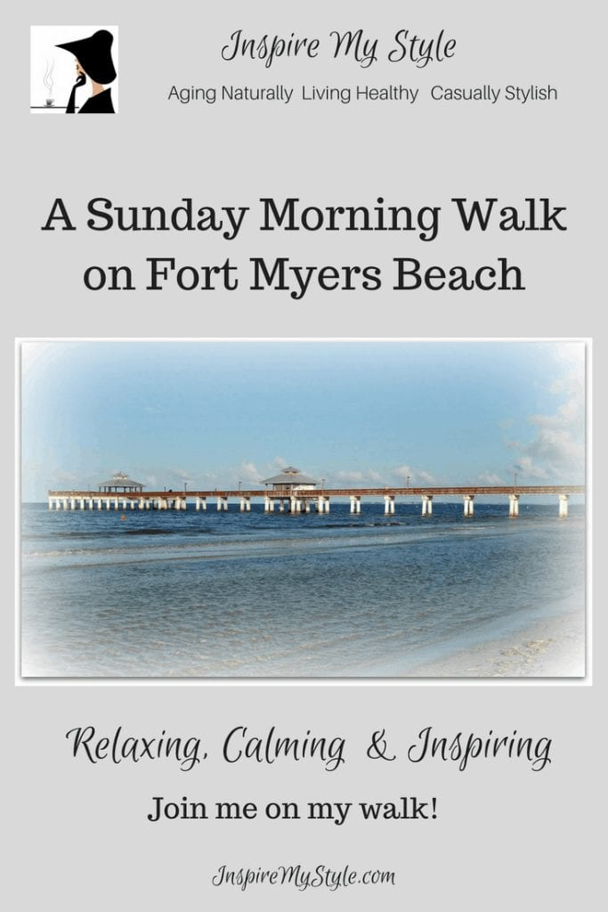 Sunday morning walk on Ft Myers Beach