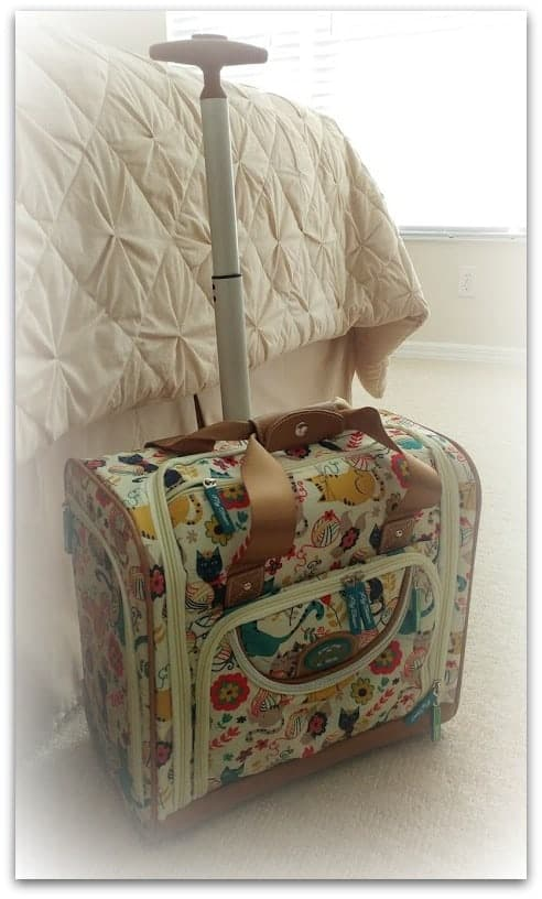best under the seat carry on luggage with wheels