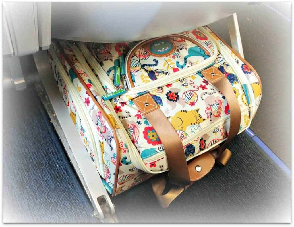 best underseath carry on luggage