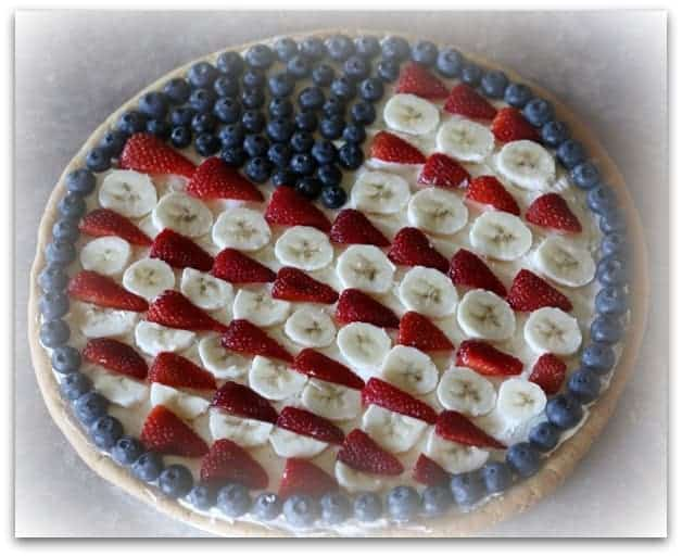 flag pie easy 4th of July dessert idea