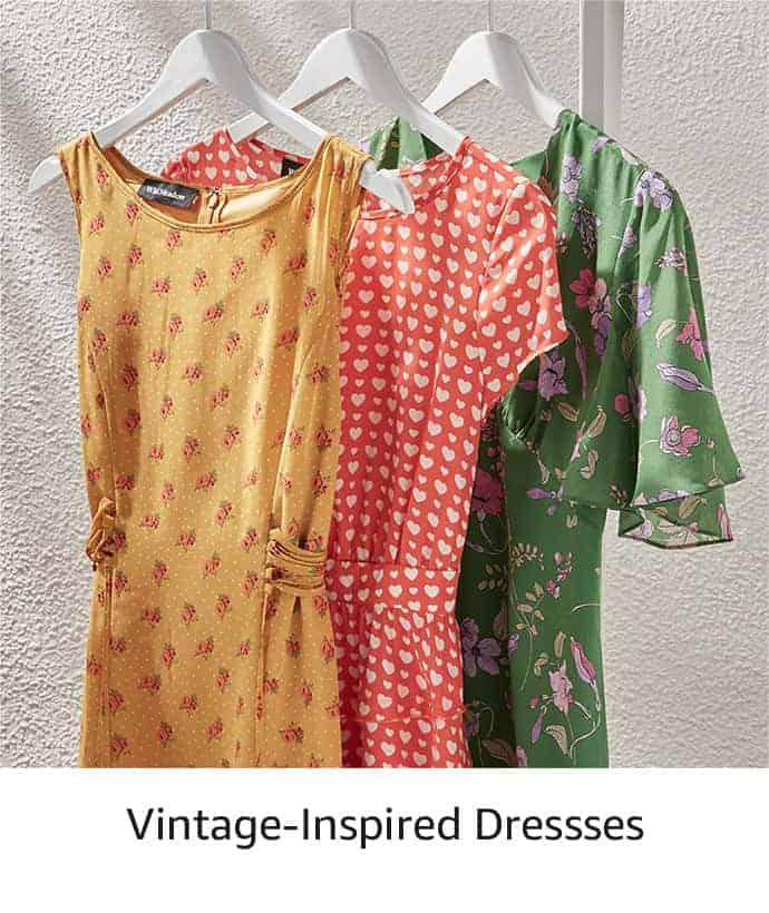 Prime Wardrobe vintage inspired dresses