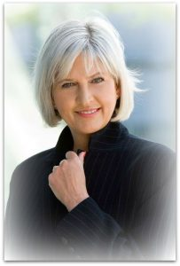 beautiful haircut for mature woman