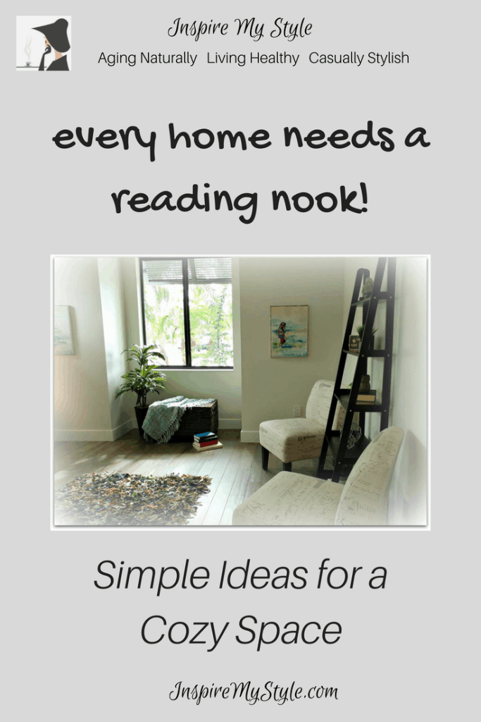 every home needs a reading nook