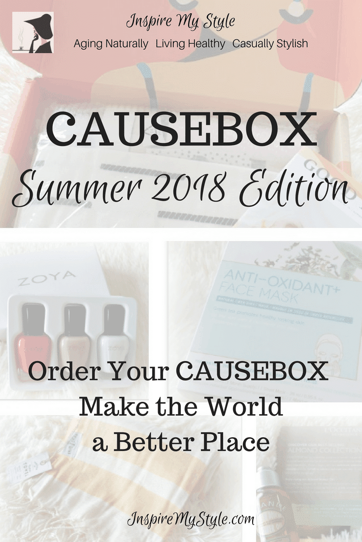 causebox summer 2018 make the world a better place