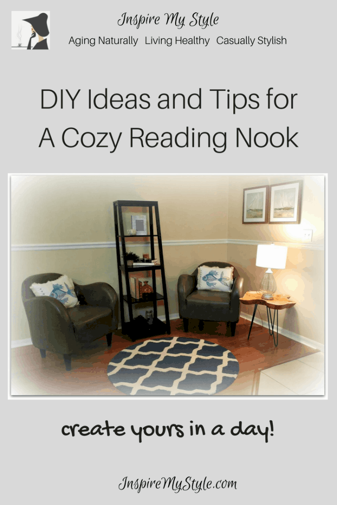 DIY Ideas to create a cozy reading nook
