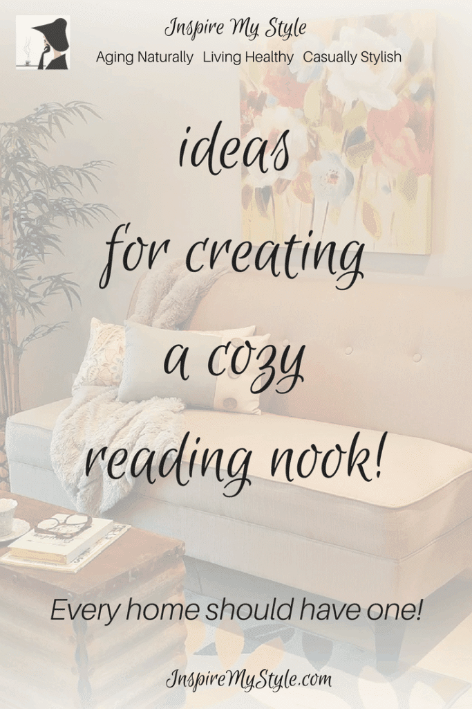 ideas for creating a cozy reading nook