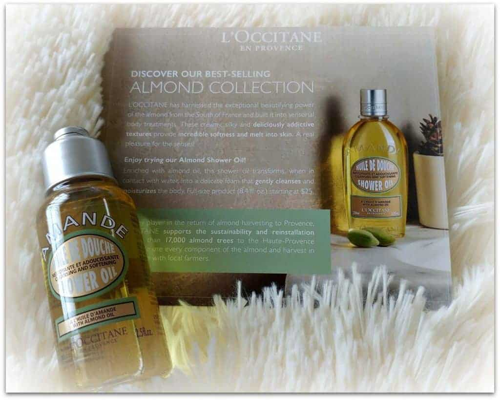 Summer Causebox Almond Shower Oil