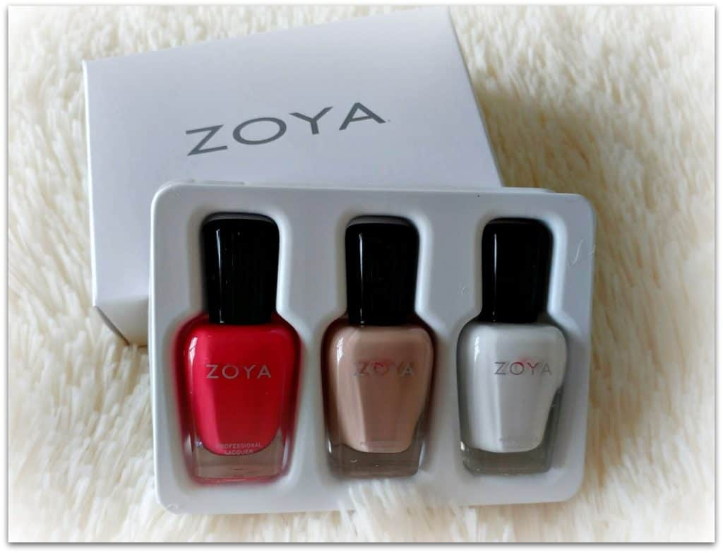 Summer Causebox Zoya Nail Polish