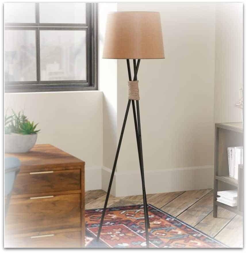 Langley Street Tripod Floor Lamp from Wayfair