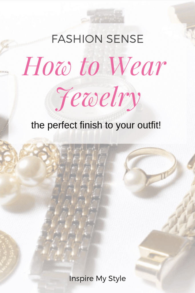 How to wear jewelry to complete your look. Fashion sense? Sure, but sometimes you need a bit a help to finish off your look properly. Tips, ideas and beautiful, affordable curated items to give you everything you need. #howtowearjewelry #womensfashion #accessories