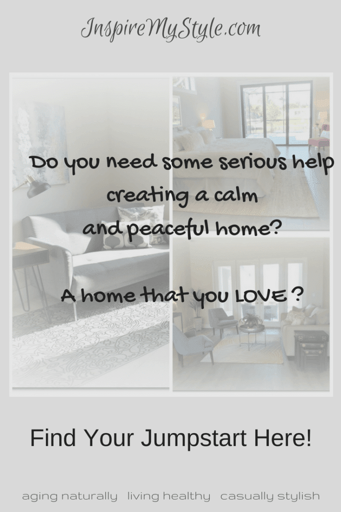 Serious help for you! Create a calm and peaceful home to love