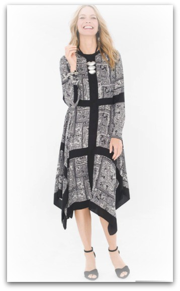 Scarf Maxi Dress Chicos