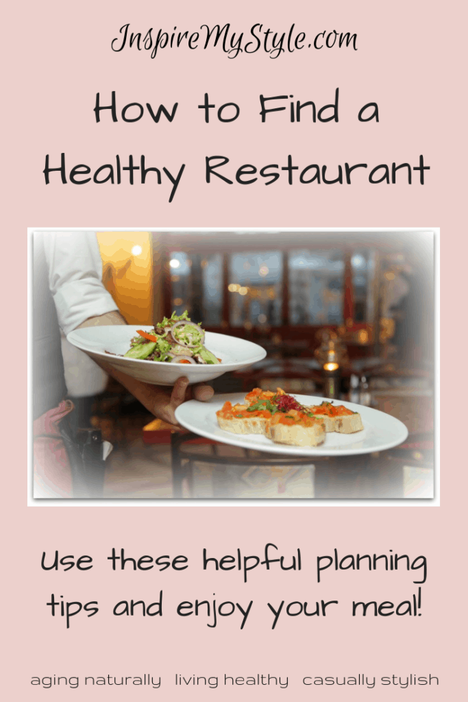 How to find a healthy restaurant