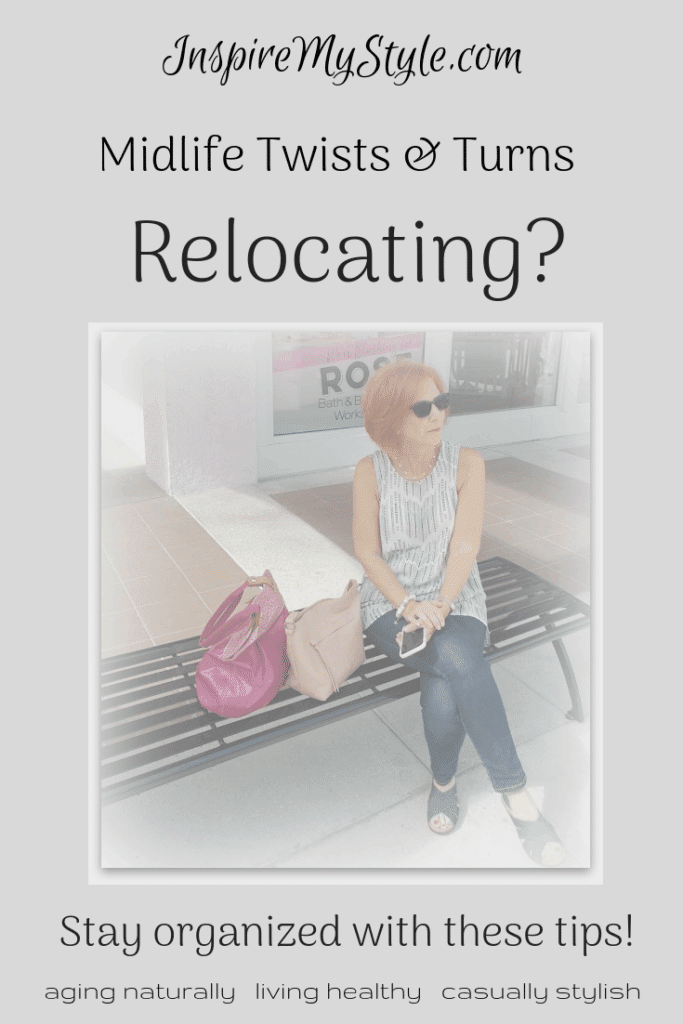 Midlife twists and turns - relocating!
