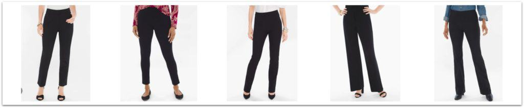 Black Pant Styles from Chicos