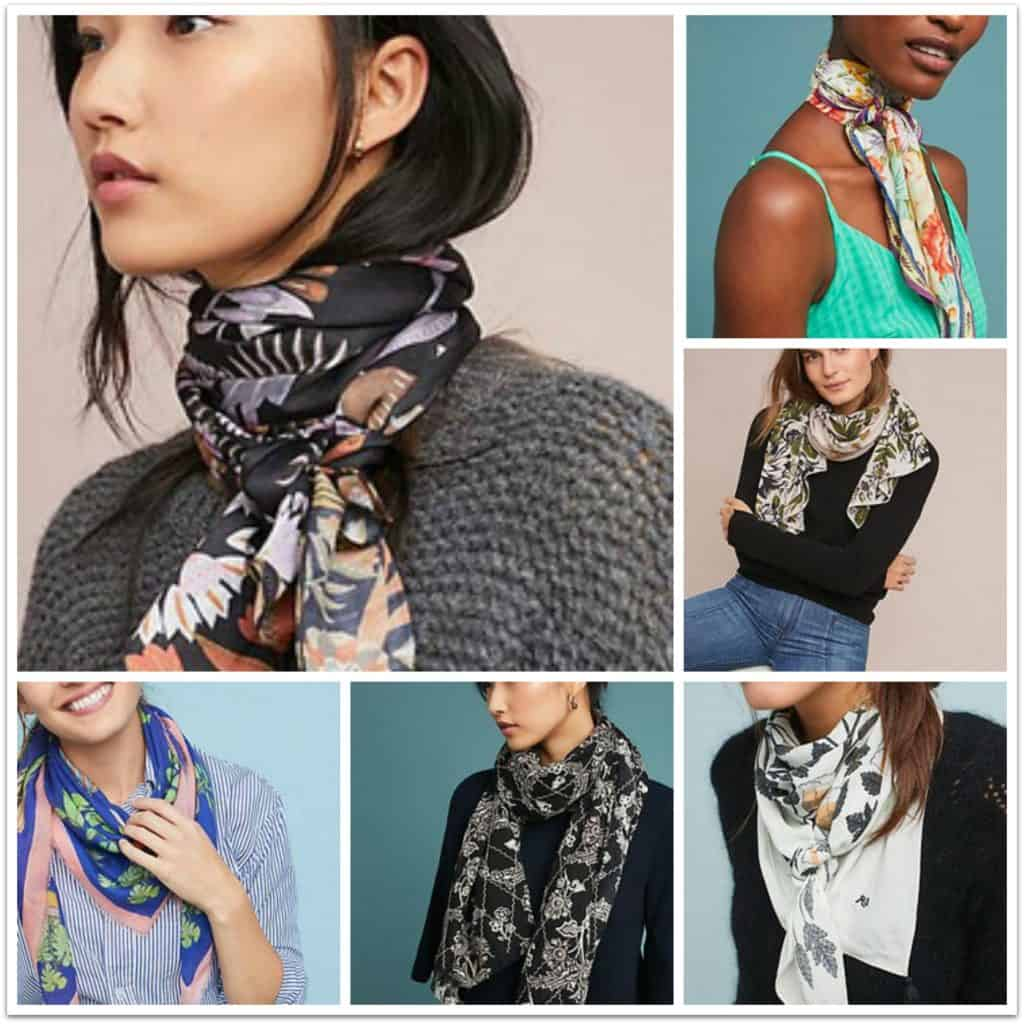 Womens scarves from Anthropologie