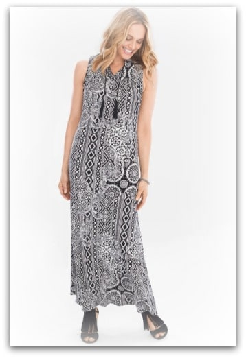 Medallian Maxi Dress by Chicos