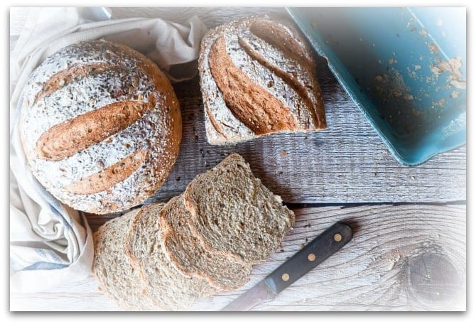 healthier eating options with wholemeal bread