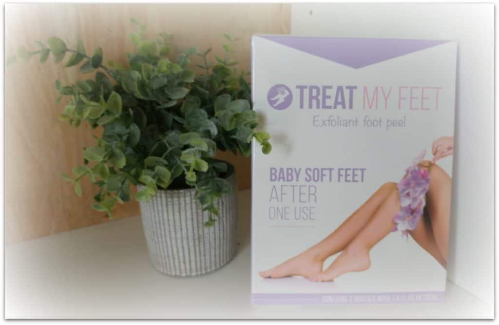 treat my feet exfoliant foot peel