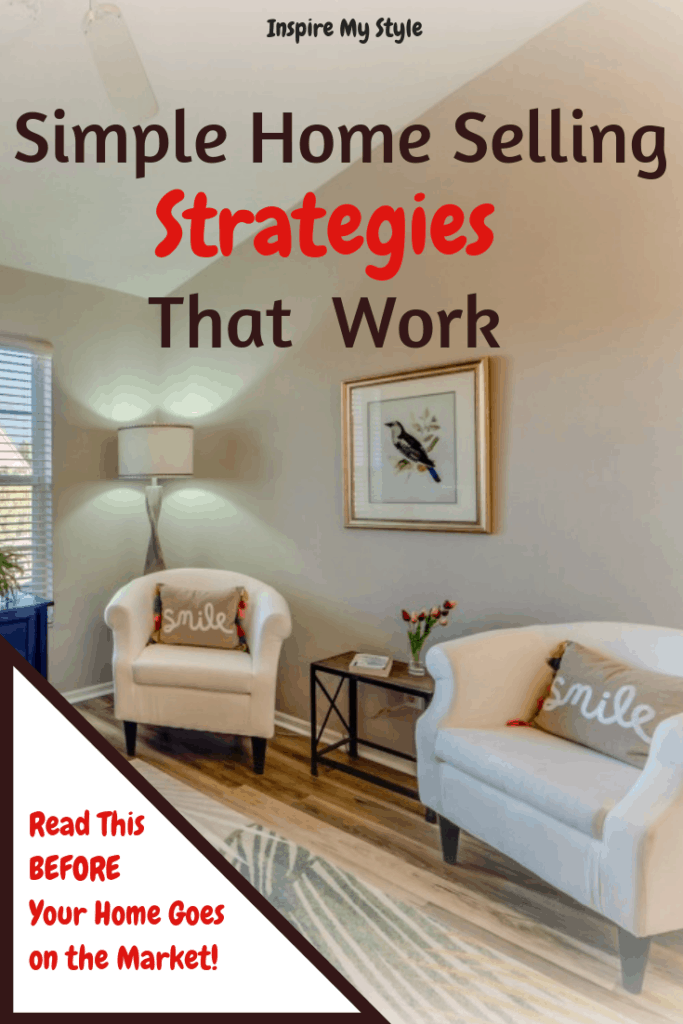 Simple Home Selling Strategies That Work! Getting your home ready for sale and on the market is the crucial first step, so read on to discover some useful tips to help you prepare your home and sell your property. #realestatetips #homesellingstrategies #homestagingtips