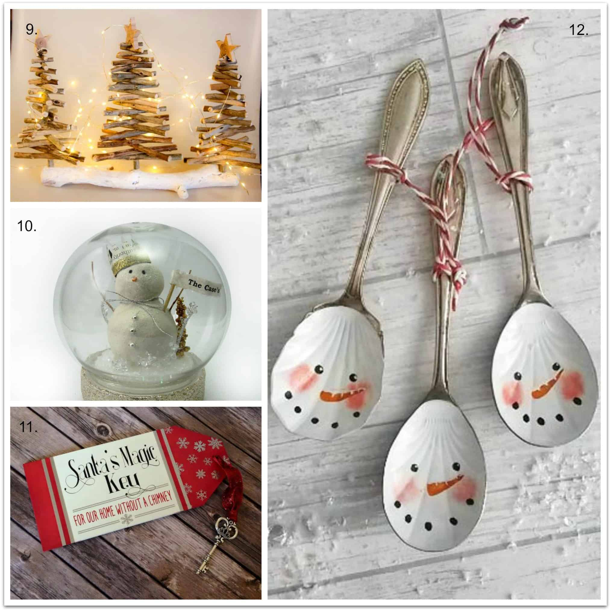 christmas home decor from etsy