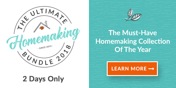Ultimate Homemaking Bundle 201