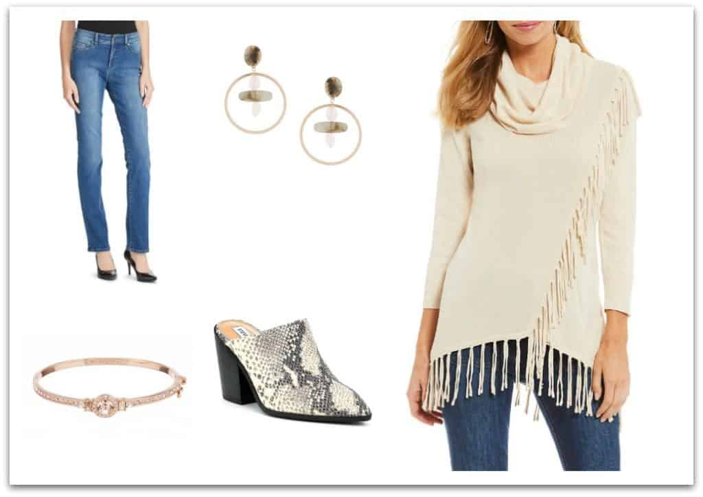 casual holiday outfit for women