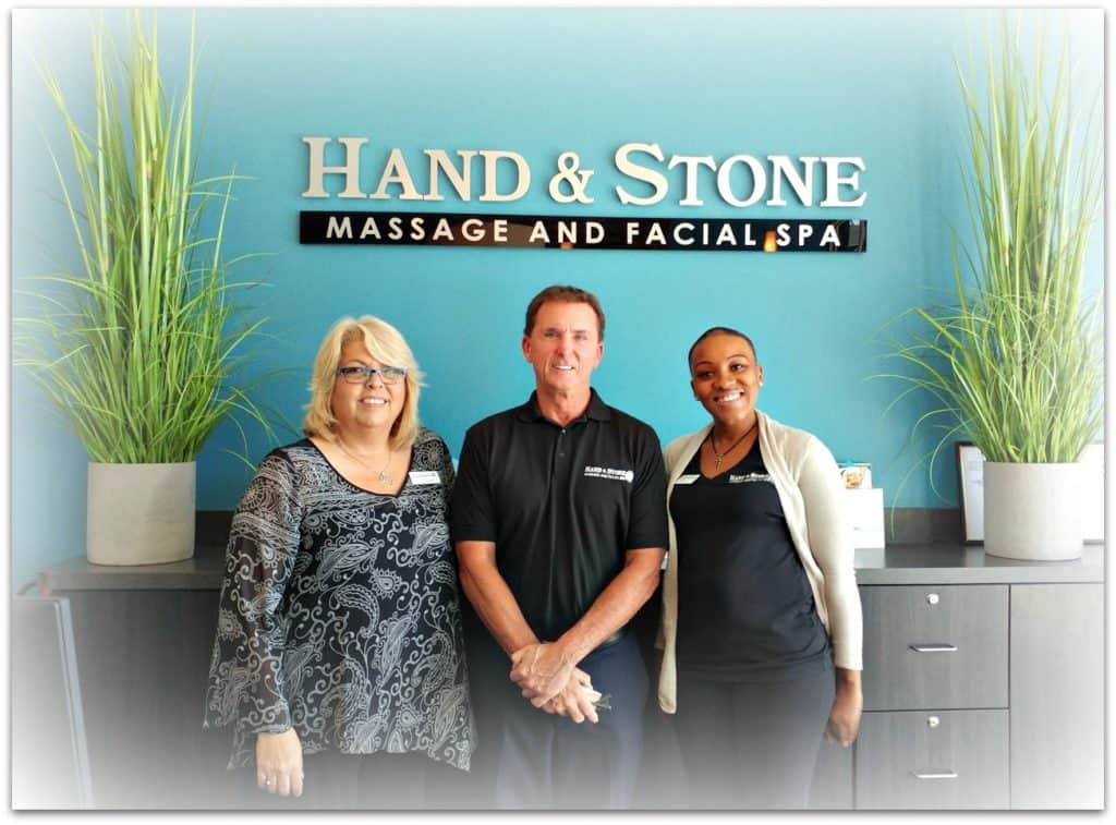 hand and stone spa john mohler and staff