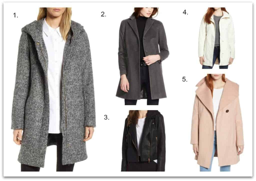 jackets and coats from Nordstrom