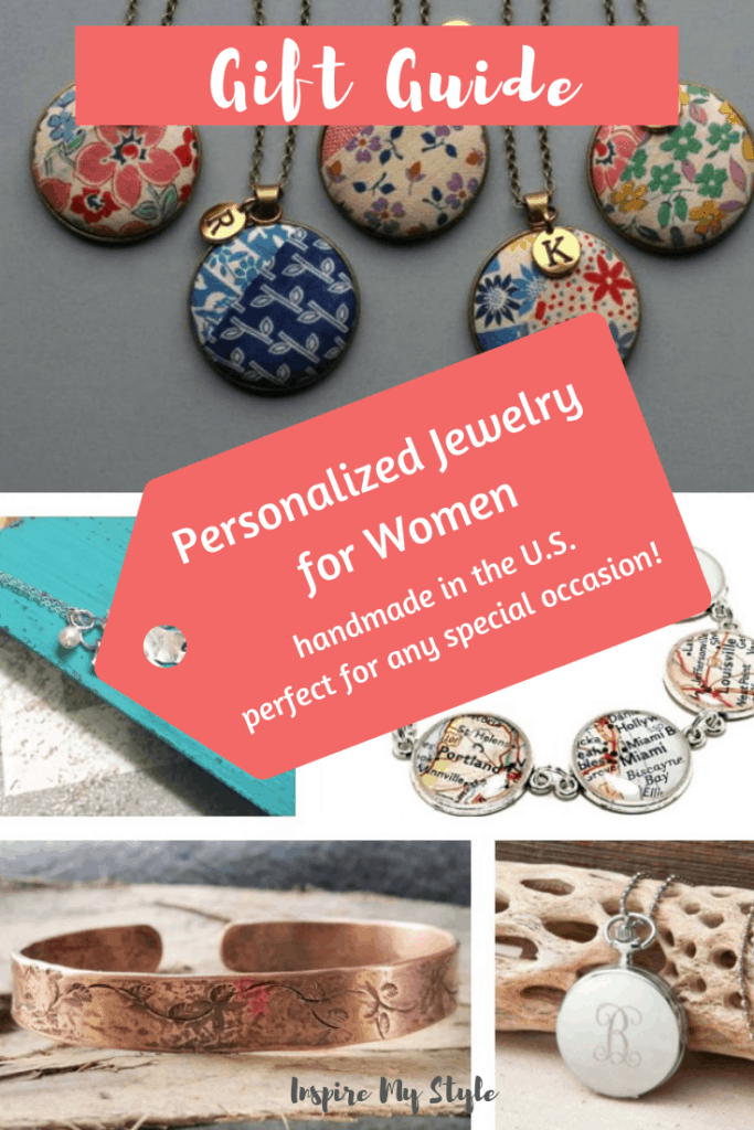 personalized jewelry for women from Etsy. perfect for any special occasion. Budget friendly, all handmade in the US. Find the perfect gift now! #personalizedjewelry #jewelryforwomen #etsy #handmade #Christmasgift #holidaygift #womensaccessories