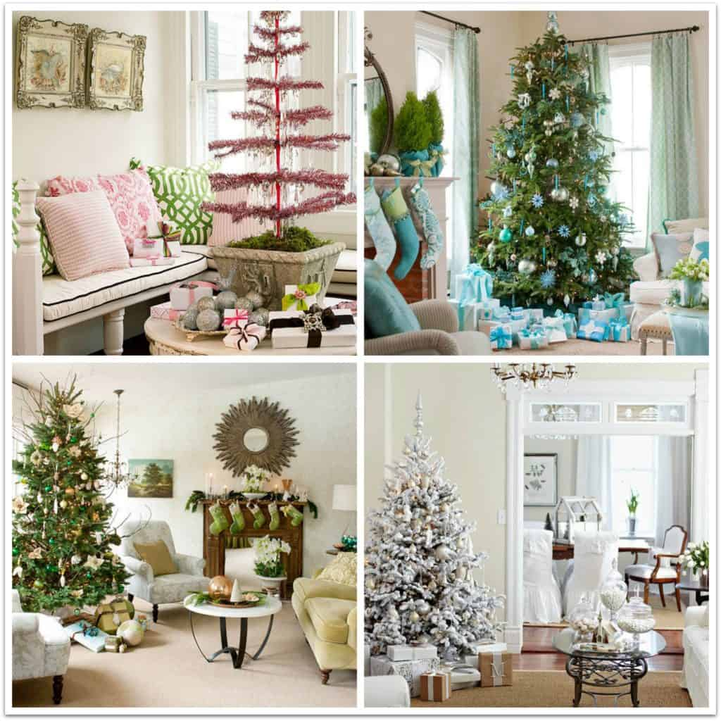 Creative Holiday Decorating Color Schemes
