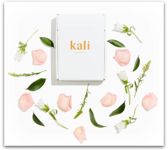 kali boxes organic feminine care