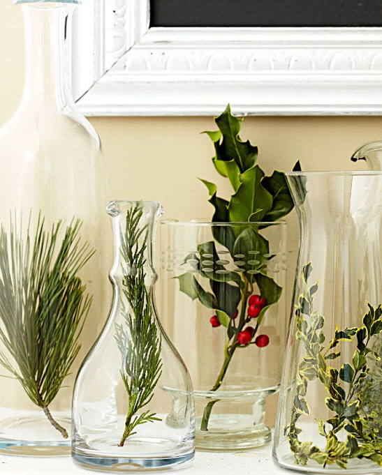 Simple and organici DIY holiday decor from MidwestLiving.com
