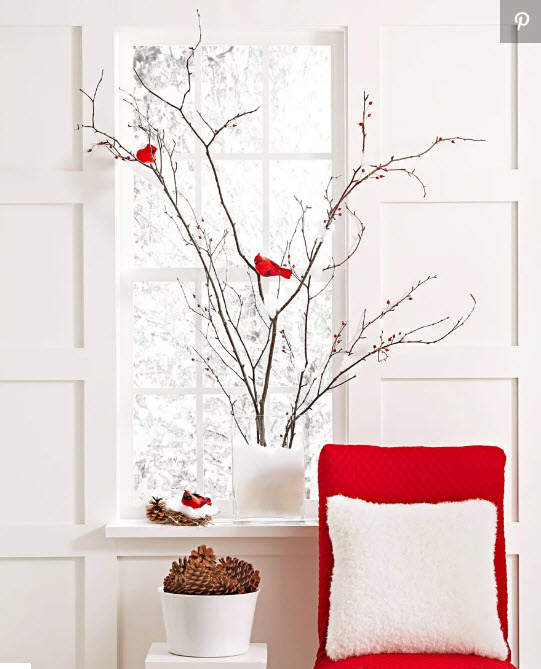 Natural DIY holiday decor from MidwestLiving.com