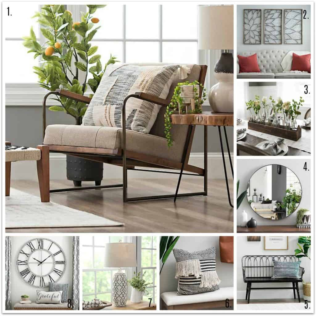 Modern Farmhouse Style Home Accents from Kirklands