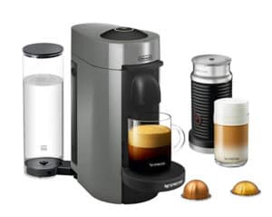 Nespresso Vertuo Plus with Aeruccino frother
