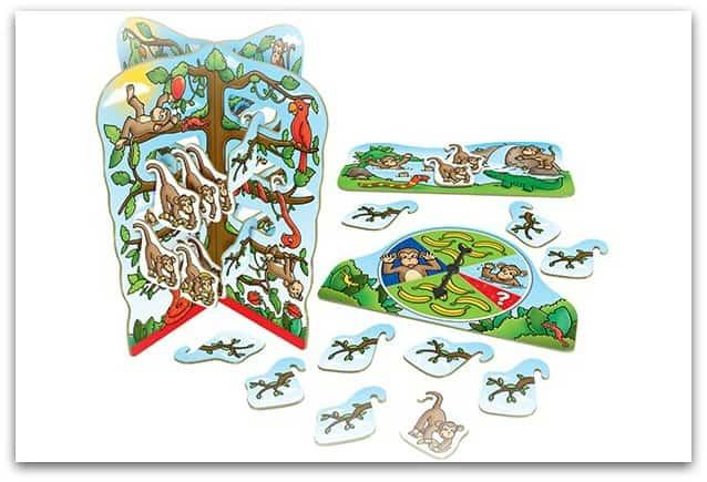 Board game for kids - Cheeky Monkeys